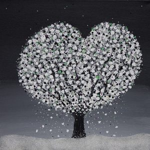 White Heart Tree in the snow